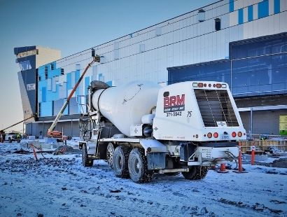 Boone Ready Mix Large Concrete Job