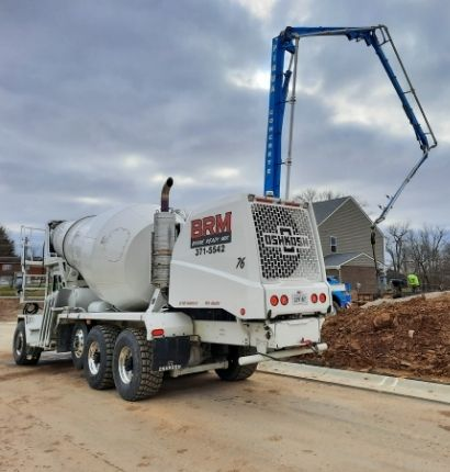 Boone Ready Mix Pouring Foundation